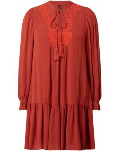Sukienka rozkloszowana z falbanami Y.a.s
