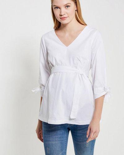 Белая блузка для беременных Mama.licious