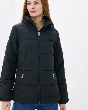 Утепленная куртка демисезонная черная Marks & Spencer
