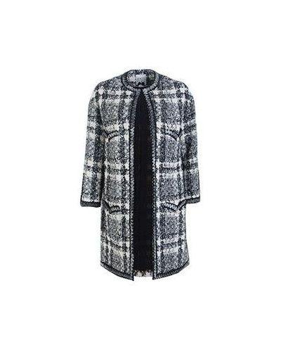 Серое акриловое пальто Edward Achour