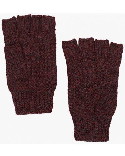 Перчатки красный митенки Topman