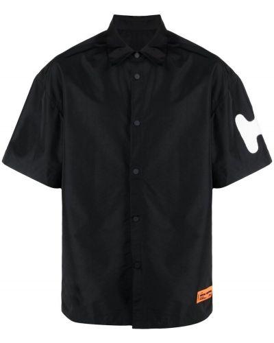 Koszula krótki rękaw - czarna Heron Preston