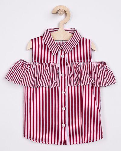 Блуза красная на пуговицах Trendyol