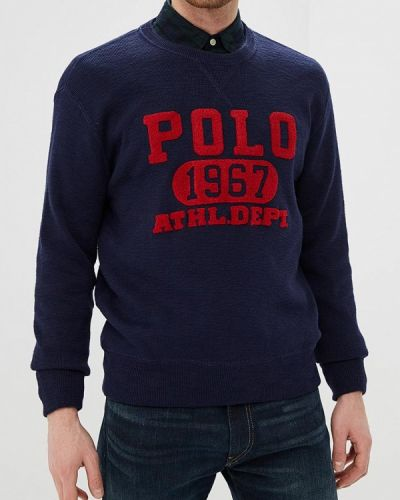 Синий джемпер осенний Polo Ralph Lauren