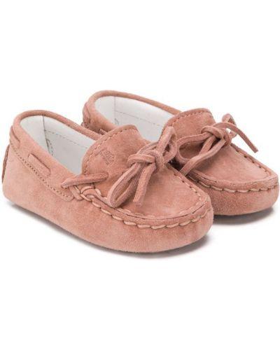 Мокасины для обуви розовый Tod's Kids