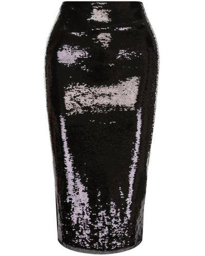 Юбка миди с пайетками со вставками Tom Ford