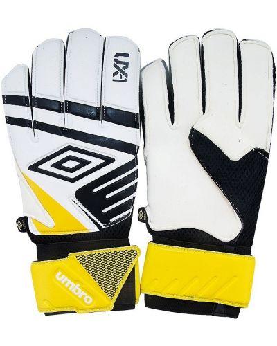 Кожаные перчатки текстильные тренировочные Umbro