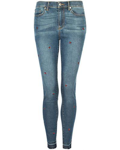 Niebieskie spodnie casual Juicy Couture