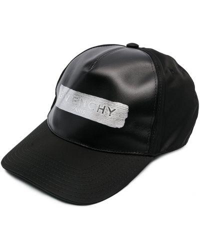 Bawełna czarny z paskiem czapka baseballowa Givenchy