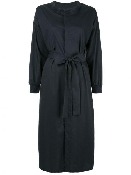 Темно-синее платье миди Frei Ea