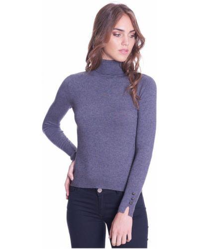 Czarny sweter z długimi rękawami Luckylu