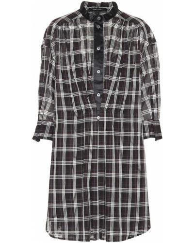 Платье рубашка - черное Marc Jacobs