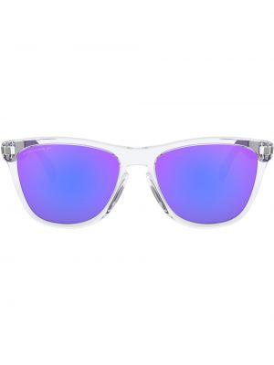Niebieskie okulary Oakley