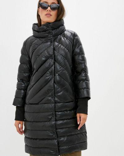Кожаная черная кожаная куртка снежная королева