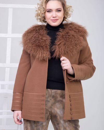 Приталенное кашемировое пальто с подкладкой Sergio Cotti