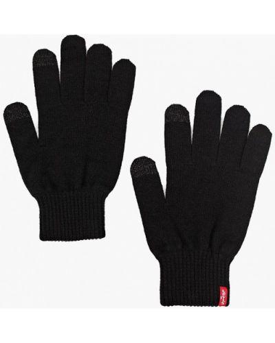 Текстильные черные перчатки Levi's®