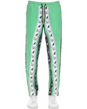 Zielone spodnie Mjb Marc Jacques Burton