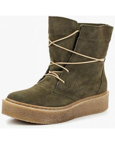 Зеленые ботинки осенние Dali