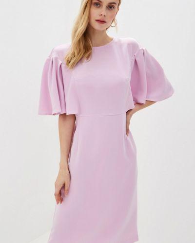 Платье розовое прямое Irina Vladi