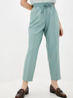 Прямые брюки - зеленые Studio Untold