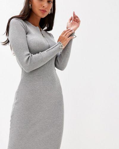 Платье - серое Liana
