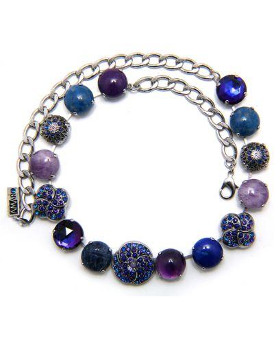Ожерелье фиолетовый Amaro