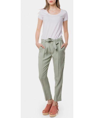 Зеленые классические брюки Mr520