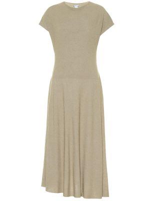 Вязаное платье миди Agnona