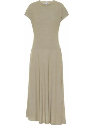 Платье миди - бежевое Agnona