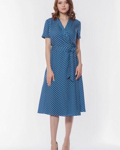 Платье с запахом осеннее Kotis Couture