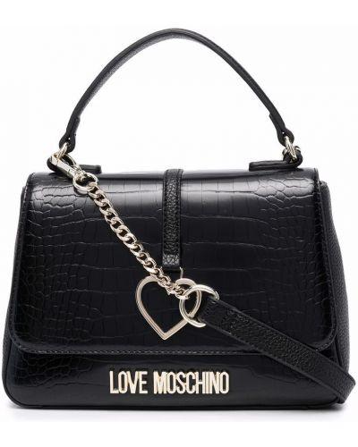 Charms - czarny Love Moschino