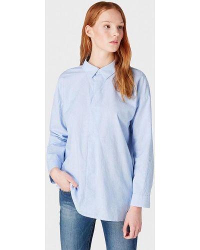 Джинсовая рубашка с длинным рукавом индийский Tom Tailor Denim