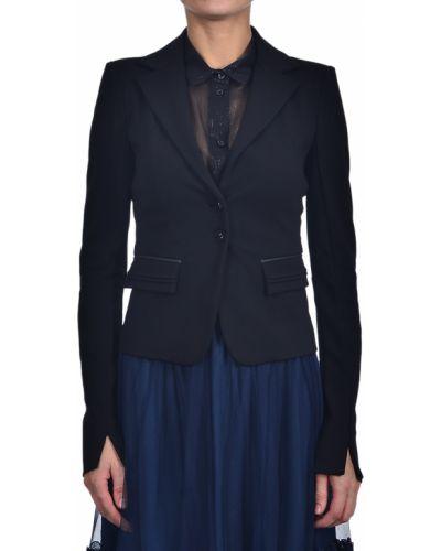 Пиджак черный из вискозы Patrizia Pepe