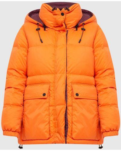 Пуховая куртка - оранжевая Yves Salomon Army