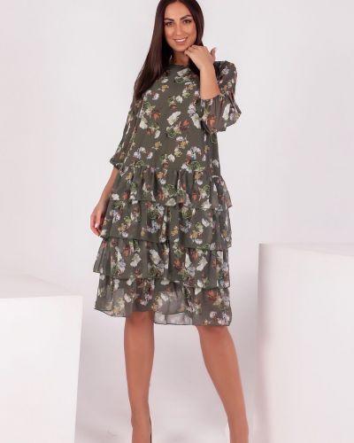Яркое платье - зеленое Van Gils