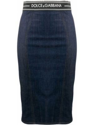 Юбка карандаш мини джинсовая Dolce & Gabbana