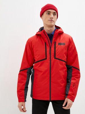 Красная зимняя куртка горнолыжная Glissade