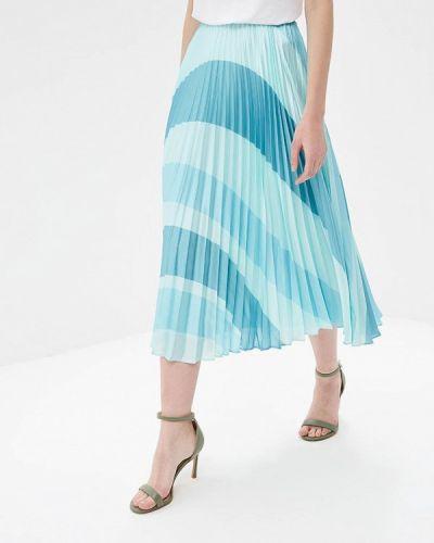 Плиссированная юбка бирюзовый Madeleine