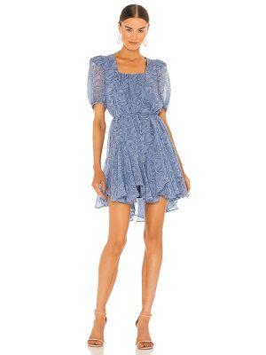 Синее деловое платье Elliatt