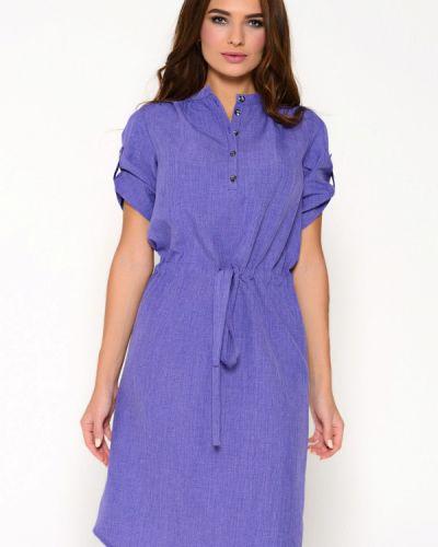 Повседневное платье фиолетовый Irma Dressy