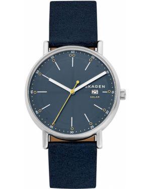 Zegarek niebieski srebrny Skagen