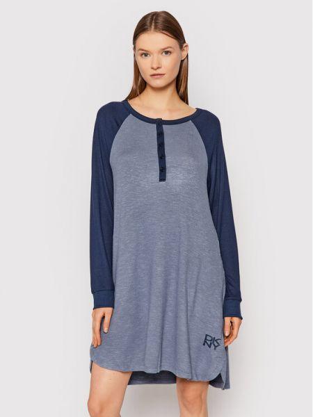 Koszula nocna - niebieska Dkny