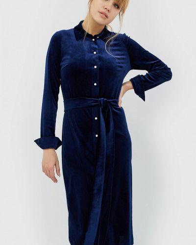 Синее платье весеннее Cardo