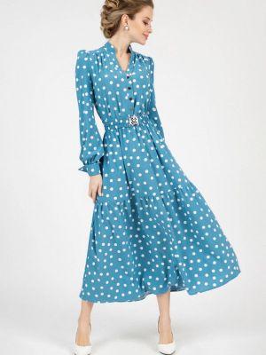 Повседневное платье - синее Marichuell