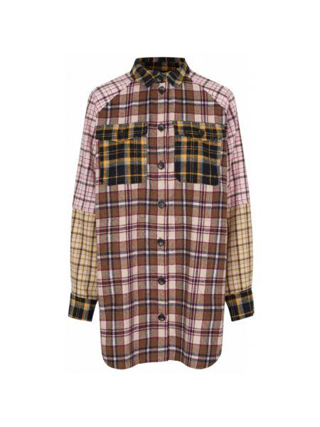 Brązowa koszula Munthe