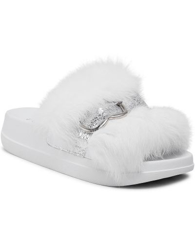 Białe sandały Eva Minge