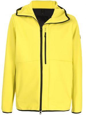 Długa kurtka, żółty Moncler