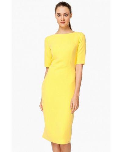 Платье весеннее желтый Nai Lu-na By Anastasia Ivanova