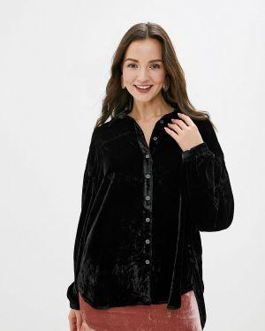 Блузка с длинным рукавом черная Free People