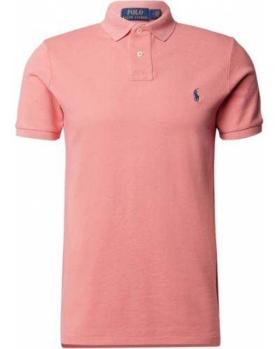 Różowy t-shirt bawełniany Polo Ralph Lauren